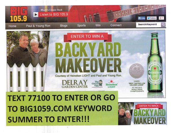 Download Win A Backyard Makeover Pics - HomeLooker